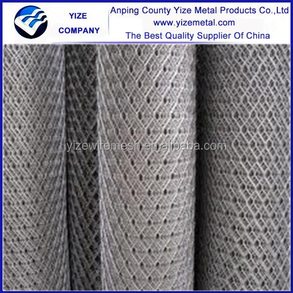 Hot sale anti-corrosive aluminum expanded mesh/gothic expanded metal mesh