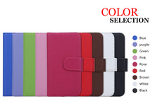 Logo print available wallet flip case for iphone5