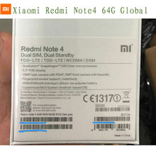 Xiaomi REDMI NOTE 4 global version 4gb 64gb snapdragon 625 processor EU Specs mobile phone