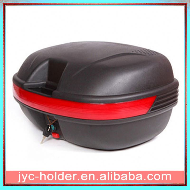 Universal detachable motorcycle top case ,H0Tb8n motorcycle rear luggage box