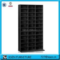 wooden dvd/cd storage shelf KC-R173