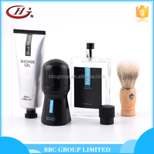 BBC Men's Range Man Suit 005 OEM men refreshing korean skin care set with shower gel eau de toilette