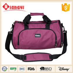 Modern outdoor round foldable travel bag luggage