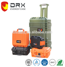 corrugated Hard plastic waterproof instrument carrying Case box