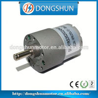 DS-37RS3525 12v 24v 37mm dc samll gear motor for vehicle transportation
