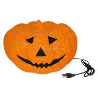 LED Eva pumpkin/Holloween/home/coffee shop/club/bedroom light decorations/All Hallow Mas essential goods