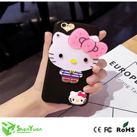 UV printing clear PC TPU cover case for iphone 4 5 5s 6 6s Plus 7 Plus, design printed cell phone case custom made