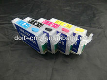 Now Can Sell:with no need battery ARC Chip Printer T1711 T1712 T1713 T1714 Refill Ink Cartridge for Epson