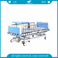 AG-CB013 CE ISO approved patient room equipment home care 5 functions manual hospital bed