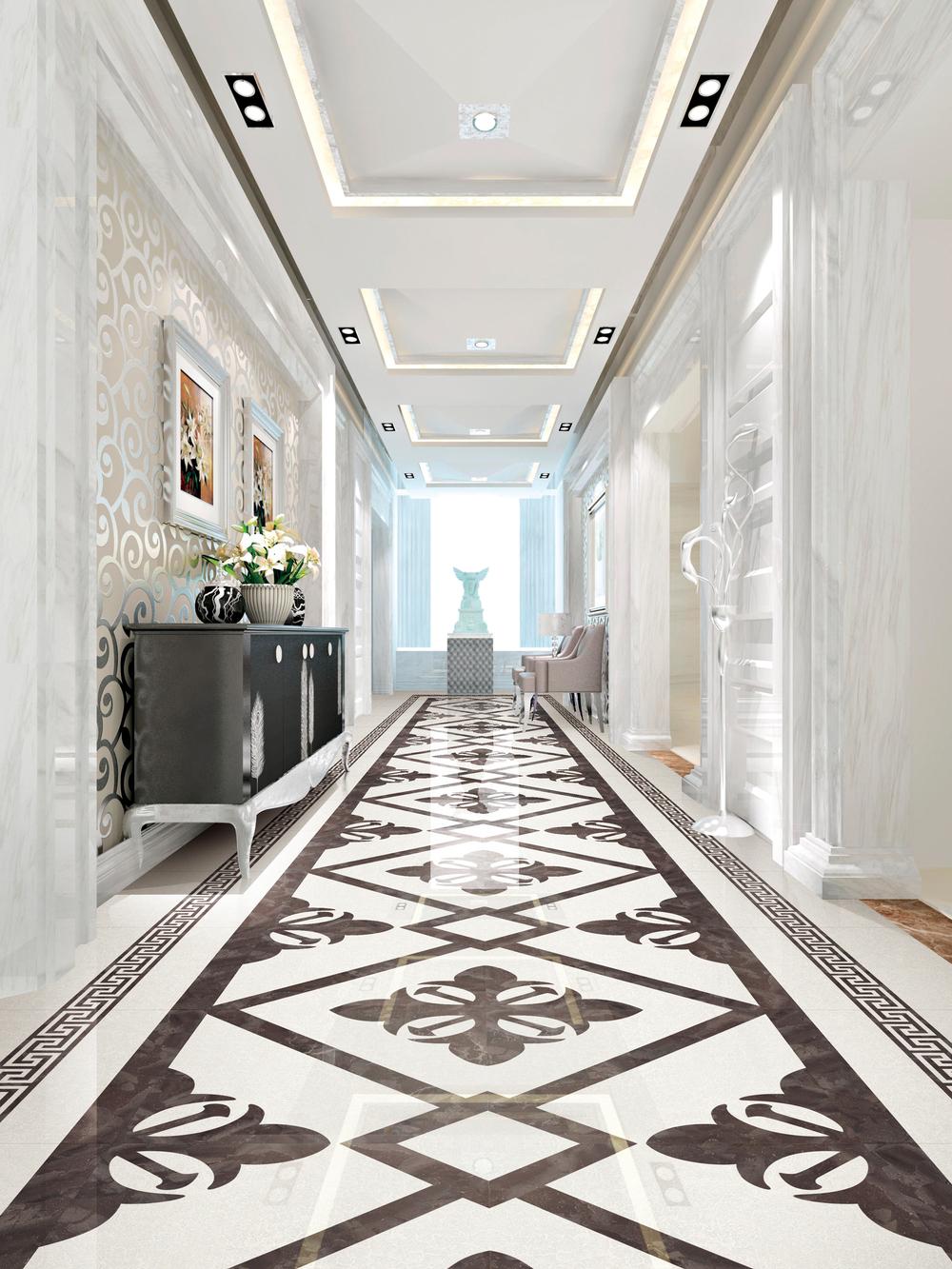 2018 New Design Porcelain Glazed Rustic Wooden Floor Tiles Bathroom ...