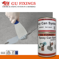 bonding aluminum epoxy concrete crack repair tool