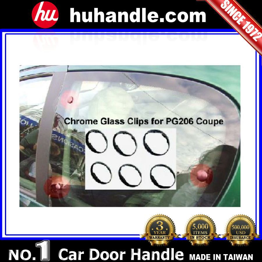 for Peugeot 206 auto parts car window clip