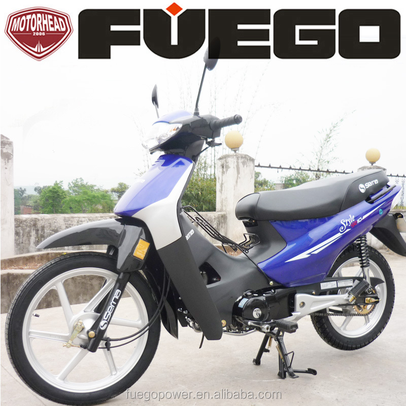Motorcycle 110cc Cub Moped Auto Bike 4Gears Cheap Price