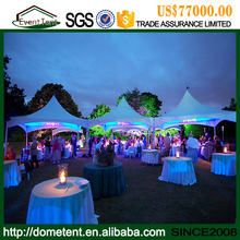 Promotion seasonal wedding tent with ABS Hard Wall low price