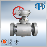 High Performance Trunnion Mounted Metal Seat Ball Valve