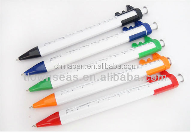 New promotional gift items promotional ruler shape ball pen