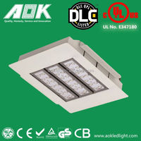 UL CE Rohs certificate meanwell driver 120W 150w explosion proof gas station led canopy lights