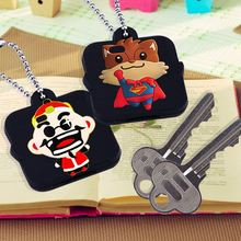 new arrival 3D cartoon silicon rubber key protector