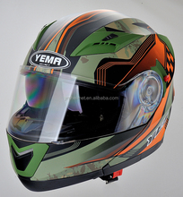 DOT standard shell helmet flip-up helmet manufacturer china YM-925