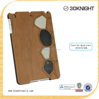 Hot Selling New fashionable real natural wood case for ipad mini