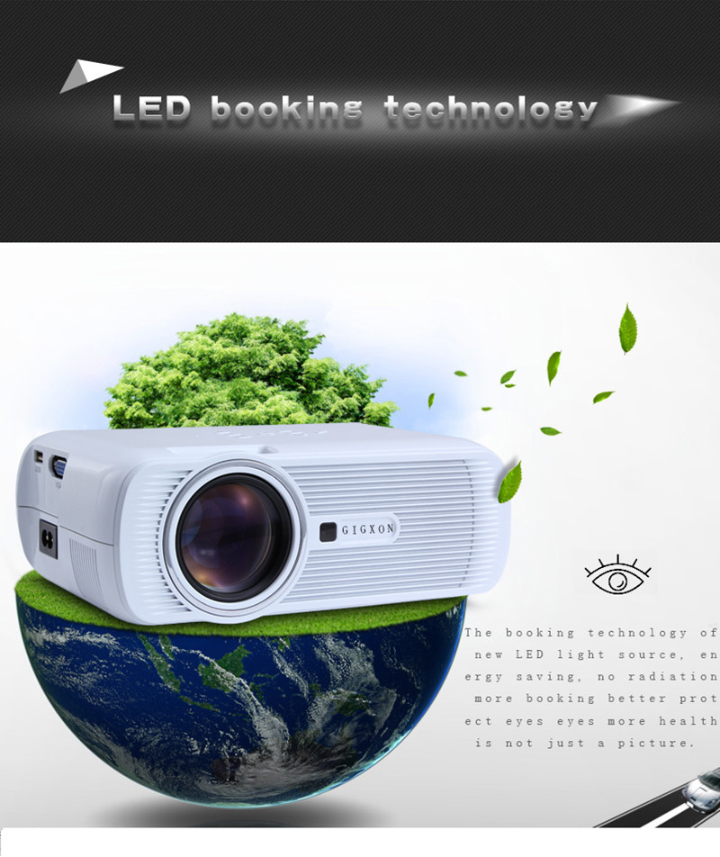 2016 hot sale G80 holographic projector led projector