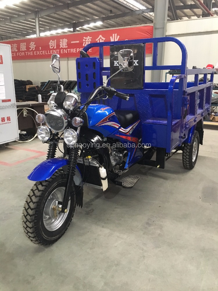 Top Sale DAYUN Three Wheel Motorcycle India Cargo Tricycle Motorcycle (Model: HY200ZH-2C)
