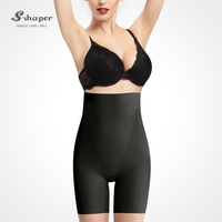 S-SHAPER OEM Women Seamless High Waisted Shorty High Waist Panty Sexy Lingerie Slimming Underwear