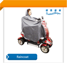 Rain Coat for Power Handicap Scooter Cover Full Body