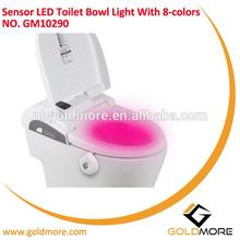 CE RoHS Approval Model Style led toilet light With Flexible Holder