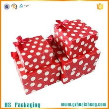 upmarket custom wedding dress storage box with ribbon gift box for wedding