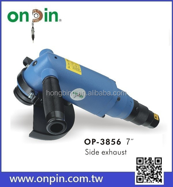 "OP-3856 7"" Pneumatic Reversible Angle Grinder / Air Tools"
