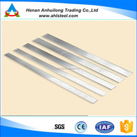 ASTM 304 stainless steel polished long flat bar cold rolled