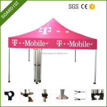 4x4 Cheap Custom Printed Canopy tent, Folding Portable Canopy Tent For Car, 50mm Intensified Aluminum Tube Canopy Tent