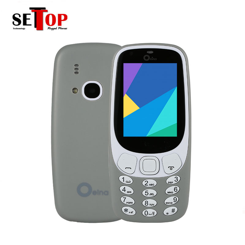Hot Selling very Small Mobile Phone 3310 Four Sim Card 2.4'' Cell Phone