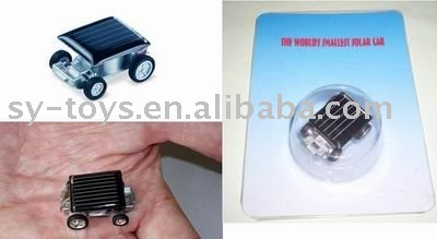 solar energy mini car
