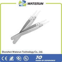 ceramic head tweezer,wholesale ceramic tweezer for vapor products