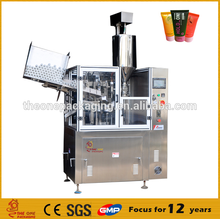 High quality manual Plastic Tube Filling And Sealing Machine, cosmetic plastic tube making machine
