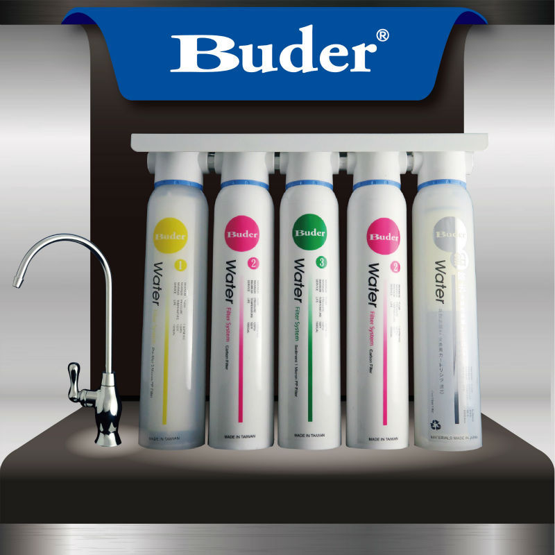 [ Taiwan Buder ] Wholesale price family water purifier 5 stages aqua