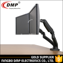 "Full Motion 13"" - 27"" Size Gas Spring Flexible Adjustable Computer Accessories Lcd Monitor Arm"