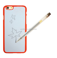 Draw as you like! DIY phone case custimized TPU eraser image mobile phone case