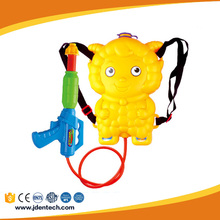 Play boys games outdoor plastic lovely backpack water squirt gun