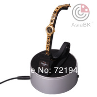 NDL100--battery powered LED display base/holder plastic turntable