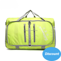 Fashion Brand Colorful Waterproof Nylon Fabric Foldable Duffel Travel Bag