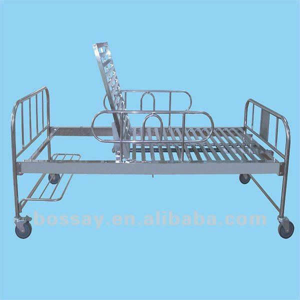Bossay One Crank Adjustable Stainless Steel Invacare Hospital Bed Dimensions BS-718