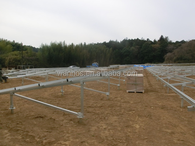 Ground Solar Mounting, solar power san diego, Solar Mounting System with Ground Screw