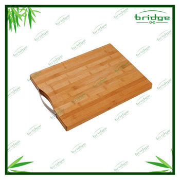 Vegetable Meat Bamboo Cutting Board With Handle