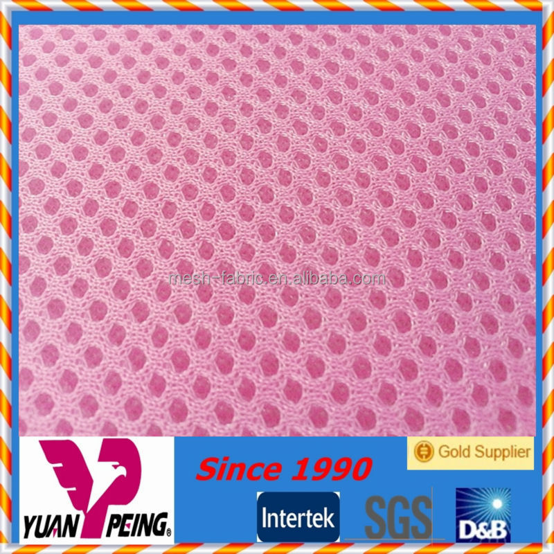 poly air mesh material 3d spacer mesh fabric for garments
