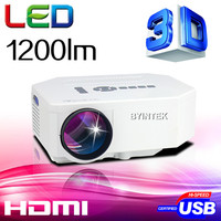 LED Mini Portable HDMI USB Video pico LCD 1080P 3D hd Home Theater Projector fUlL hd Proyector Beamer Projetor