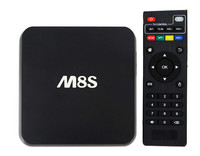 Amlogic S805 Quad Core Cpu M8S Quad-Core Mali450 1G+8G Bluetooth Usb Disk & Usb Hdd Fat32/Ntfs Android Box With Live Tv Apk