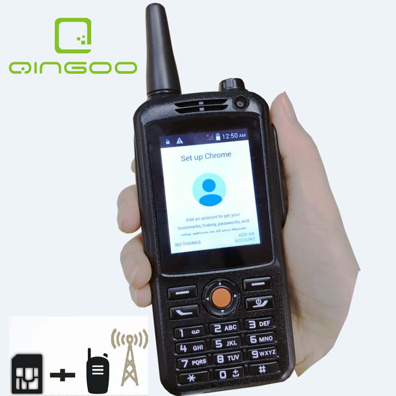 Qingoo Best Handheld Two Way intercom Police Architecture System GSM WCDMA PTT radio